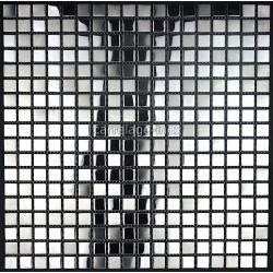 mosaico de acero inoxidable de la cocina miroir-mix