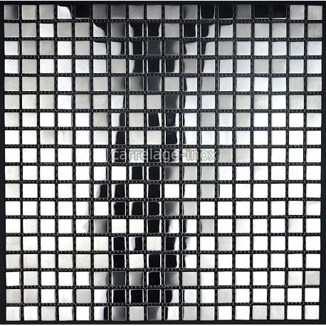 mosaico de acero inoxidable de la cocina Fusion