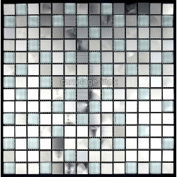 mosaique et carrelage inox, faience cuisine MULTI INOX REGULAR
