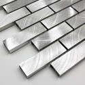 aluminium sample tile