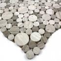 échantillon mosaique pierre