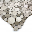 muestra mosaico piedra