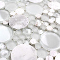 glass and stone mosaic per sqm