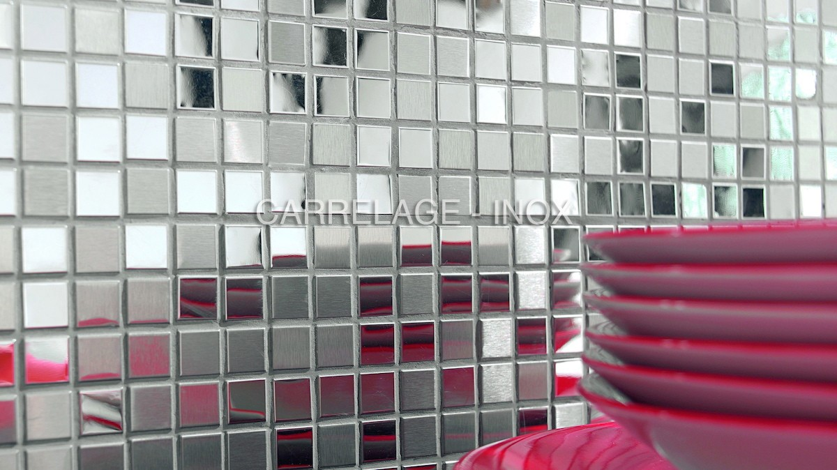 stainless steel mosaic for kitchen miroir mix